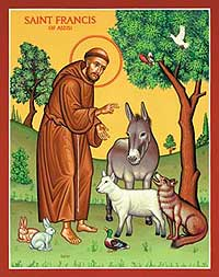 St-Francis-With-Animals
